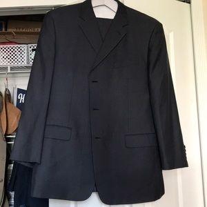 JONES NEW YORK Men's Suit Set Navy Blue